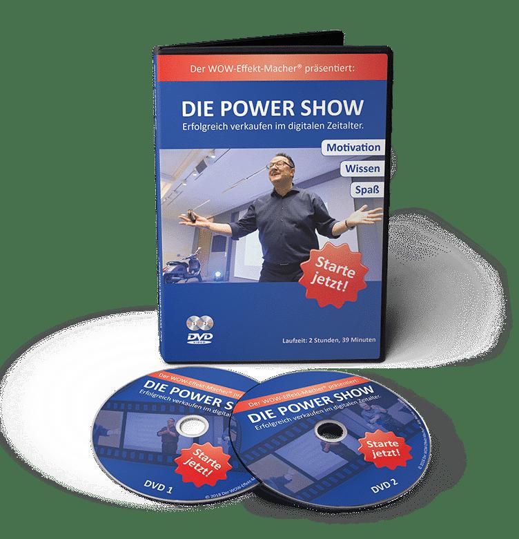DIE POWER SHOW® Video-Workshop