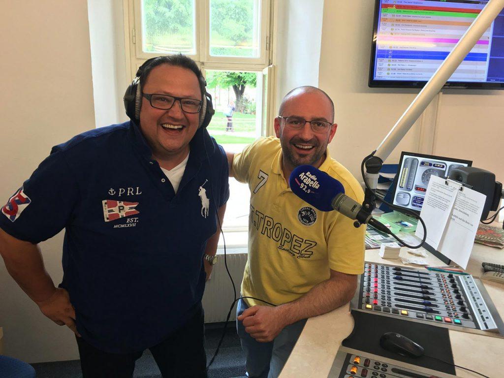 Hannes Katzenbeisser bei Radio Arabella