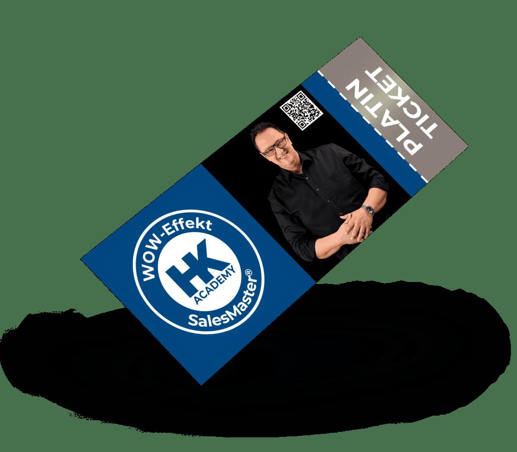 Platin-Ticket für das SalesMaster®-Seminar