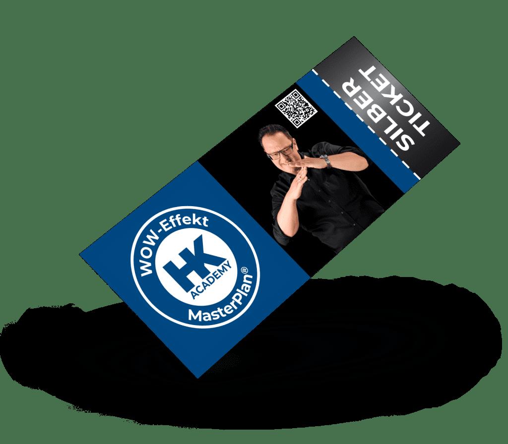 Silber-Ticket für das MasterPlan®-Seminar