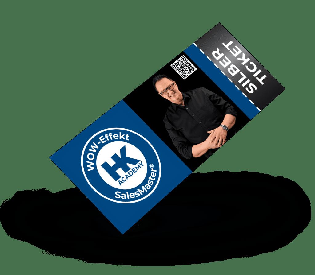 Silber-Ticket für das SalesMaster®-Seminar