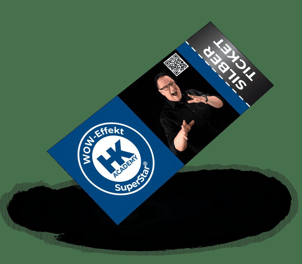 Silber-Ticket für das SuperStar®-Seminar