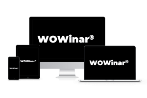 WOWinar® für Desktop, Tablet, Smartphone und Notebook