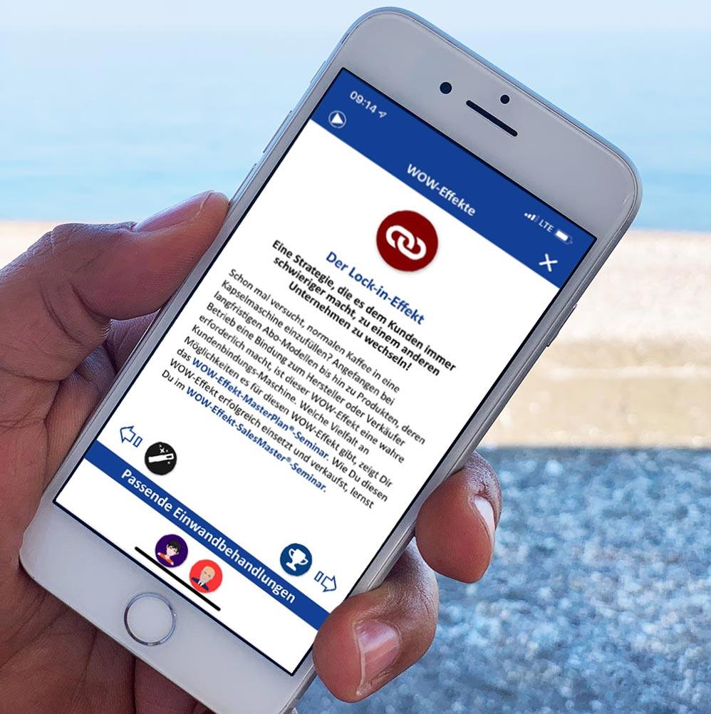 Salesbutler®-App am Smartphone